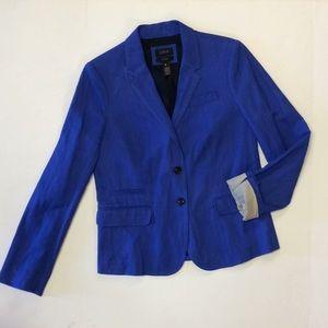 J crew blue schoolboy blazer - size 10